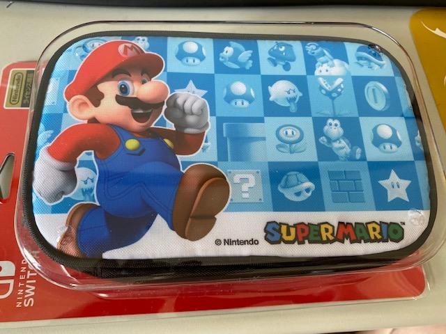 任天堂 Switch NS 主機周邊 原廠授權 超級瑪利歐 瑪莉歐 配件 保護包 攜帶包 包包 收納包