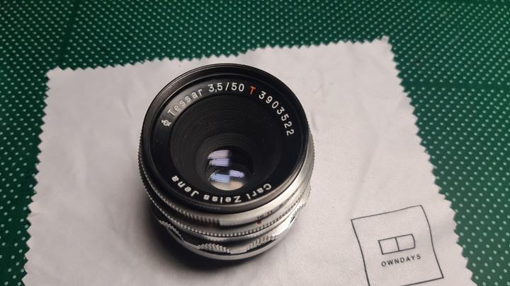 稀有 M42 Carl Zeiss Jena 紅T Tessar 50mm f3.5