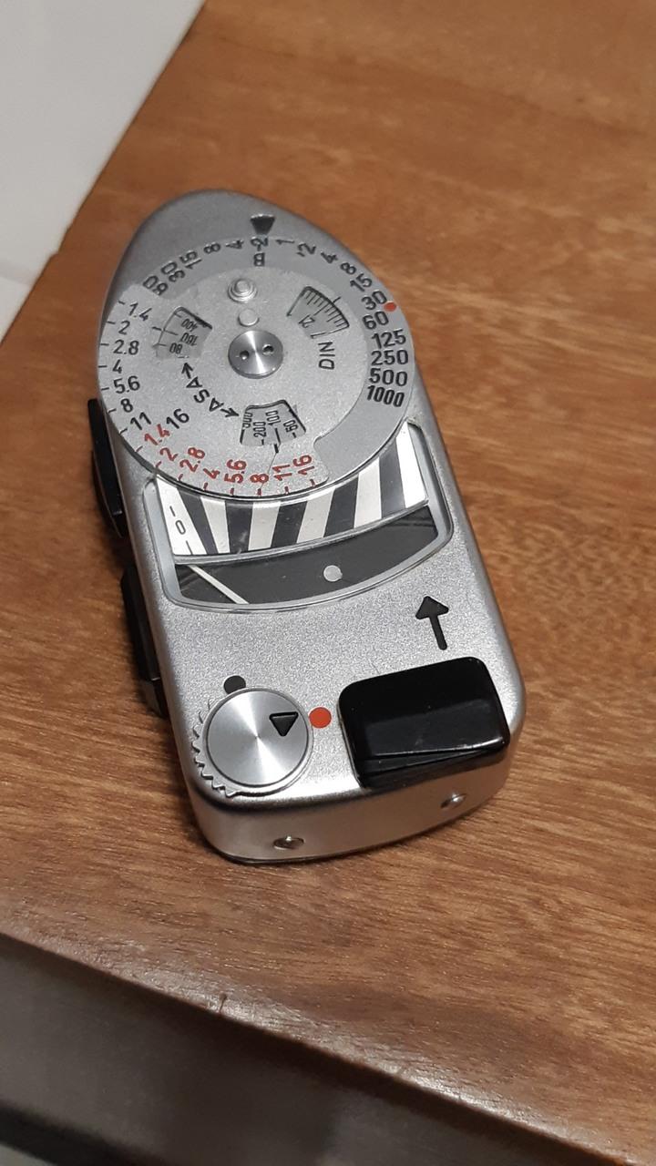 Leica MR4測光表