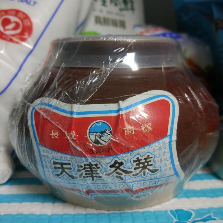 買1送2 長城牌天津冬菜 300g/罐 餛飩調味特產108年11月