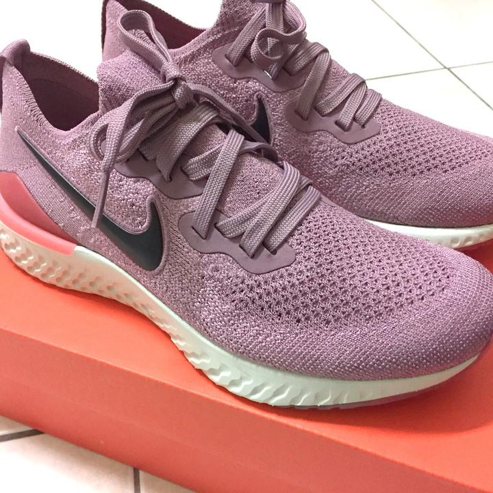 女鞋 Nike Epic React Flyknit 2 慢跑鞋 緩震編織休閒鞋 粉紫紅 BQ8927-500 公司貨