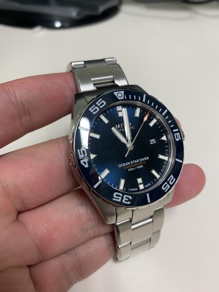 Mido Ocean Star 600m 矽游絲機械錶