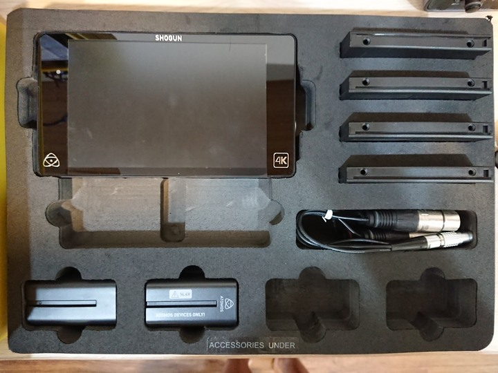 Atomos Shogun 4K 監視錄影器