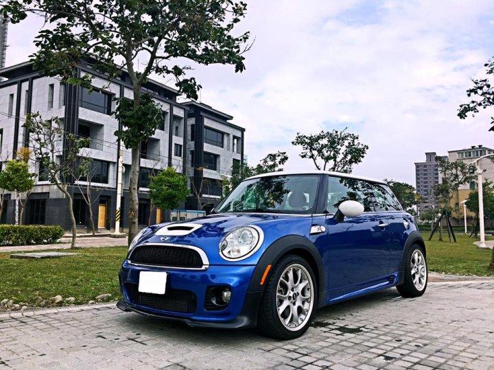 2008 Mini Cooper s 1.6 藍 配合全額貸專案 FB搜尋 : 『阿文の圓夢車坊』
