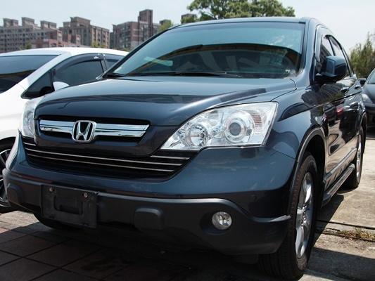 2007 Honda CRV 2.4 灰 配合全額貸、找錢超額貸 FB搜尋 : 『阿文の圓夢車坊』