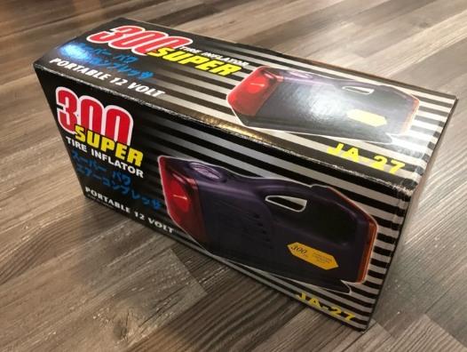300 SUPER 超強力 輪胎充氣機 打氣機 300磅 有胎壓表 照明燈 警示燈