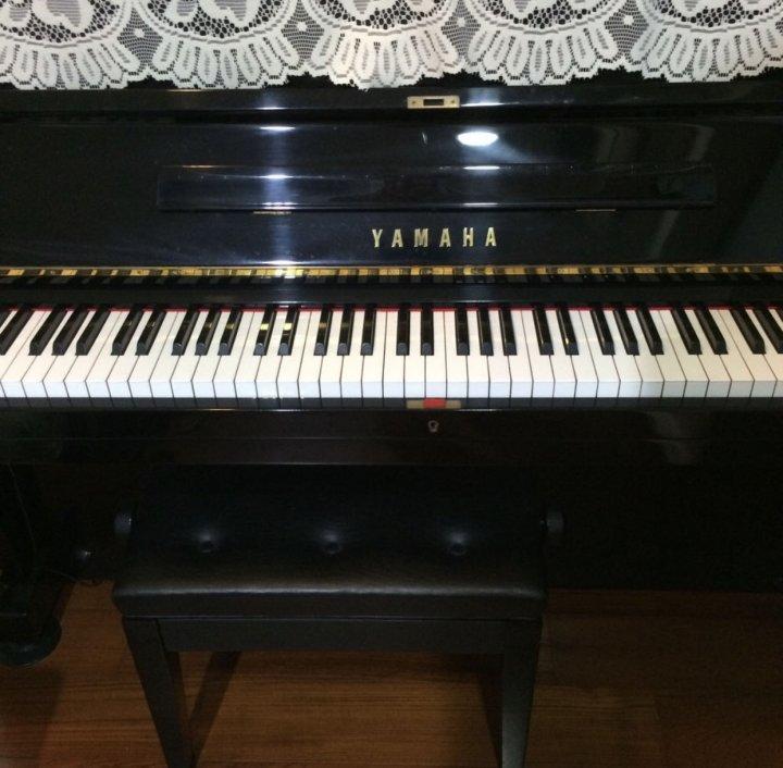 YAMAHA直立式鋼琴