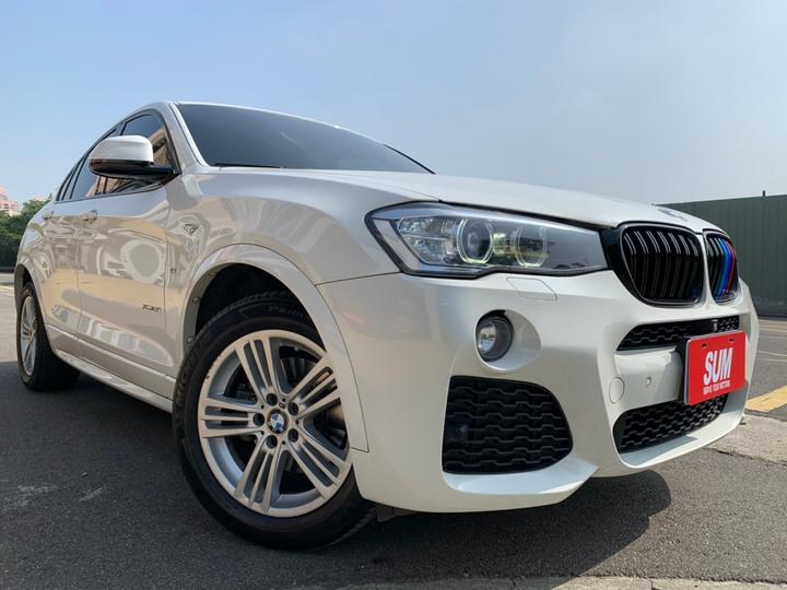 2015年 總代 BMW X435i 3.0 M版 冰川白 絕對一手車 車況佳 原廠保養 原鈑件 實車實價 里程保證 認證車 履約保證無事故無泡水 可超貸 可買車找錢 非自售 5人座 無待修