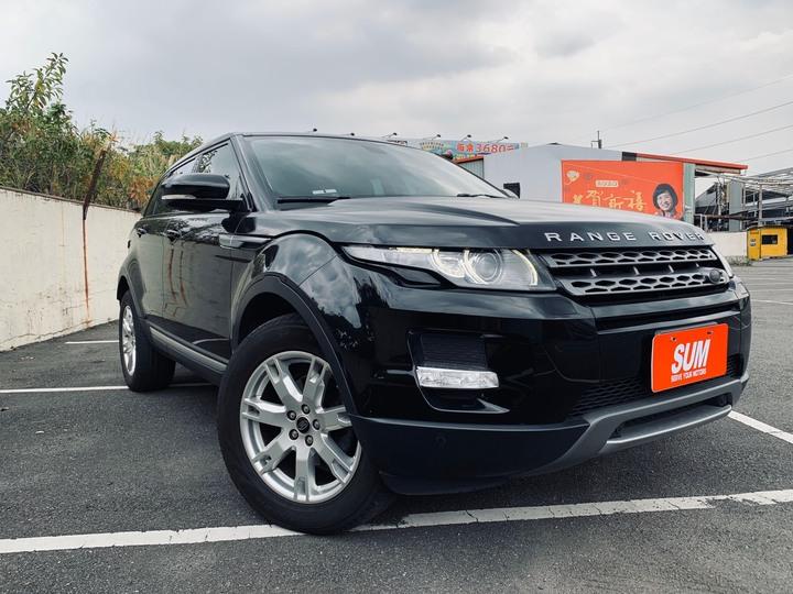 2013年 Range Rover Evoque 2.0 琥珀黑 實車實價 車況優秀 原廠保養 原鈑件 里程保證 認證車 履約保證無事故無泡水 可超貸 買車找錢 非自售 5人座 無待修
