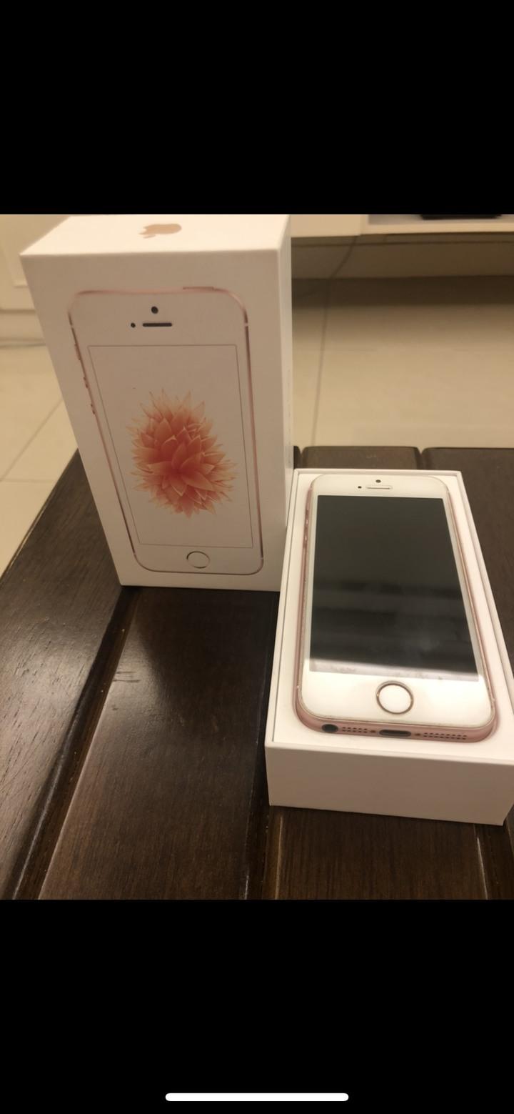 IPHONE SE 64GB 玫瑰金(二手)