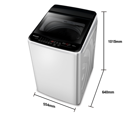 Panasonice 9公斤定頻洗衣機 NA-90EB-W