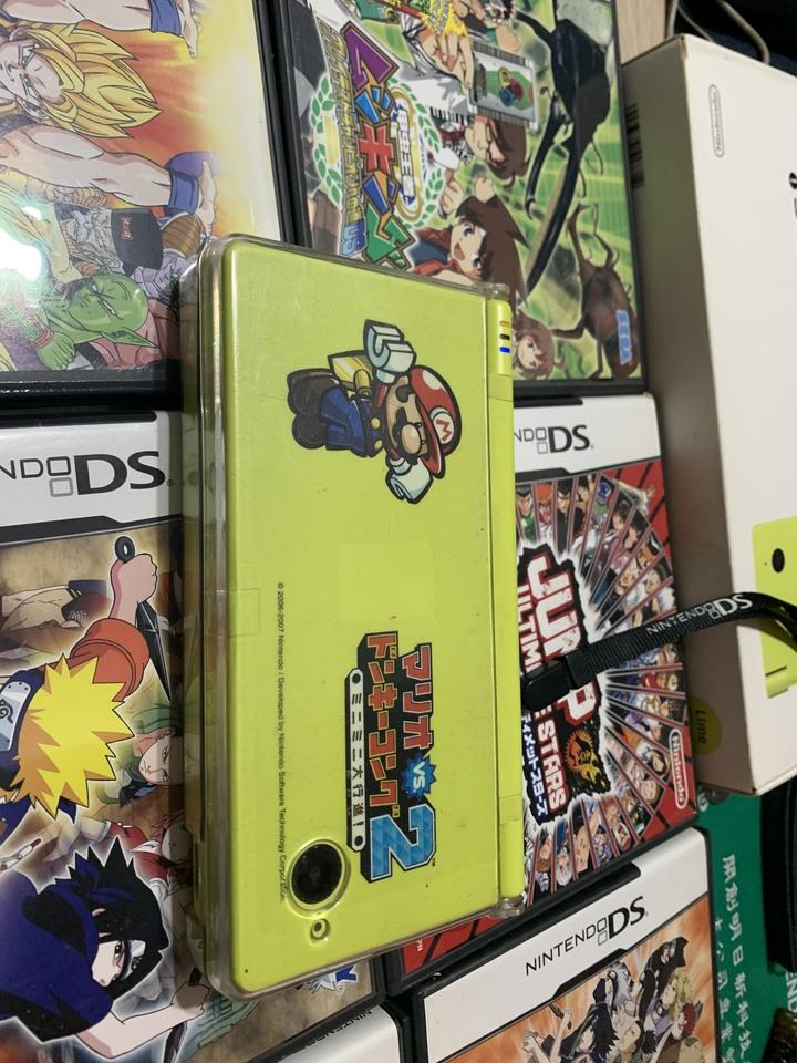 降價Nintendo da I 蘋果綠 有附一張下載卡 原版片6張