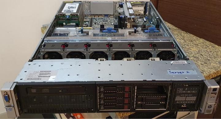 HP DL380 Gen 8 E5-2620V2 雙CPU