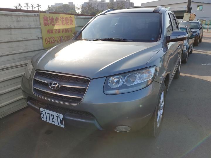 自售2008 柴油 Santa fe 山土匪 2.2 CRDI