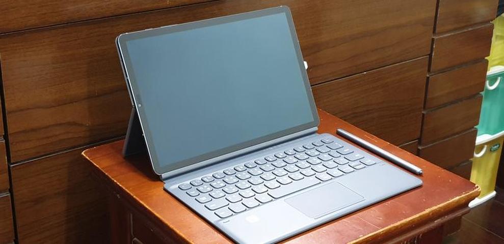 三星 Samsung TAB S6 LTE SM-T865 含原廠鍵盤皮套, 書本皮套(未拆封)