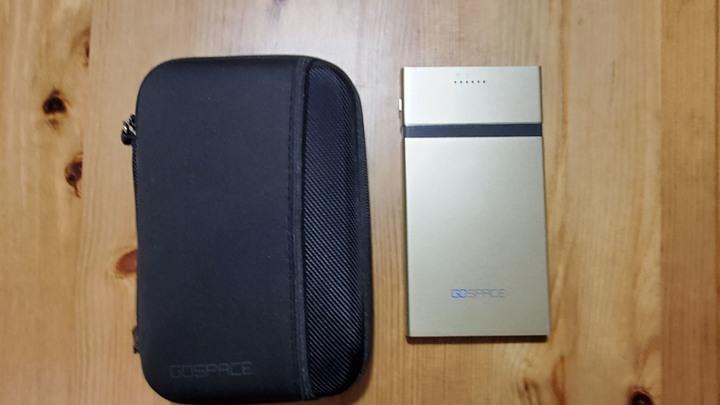 GOSPACE wifi SD讀卡機 / QI 行動電源
