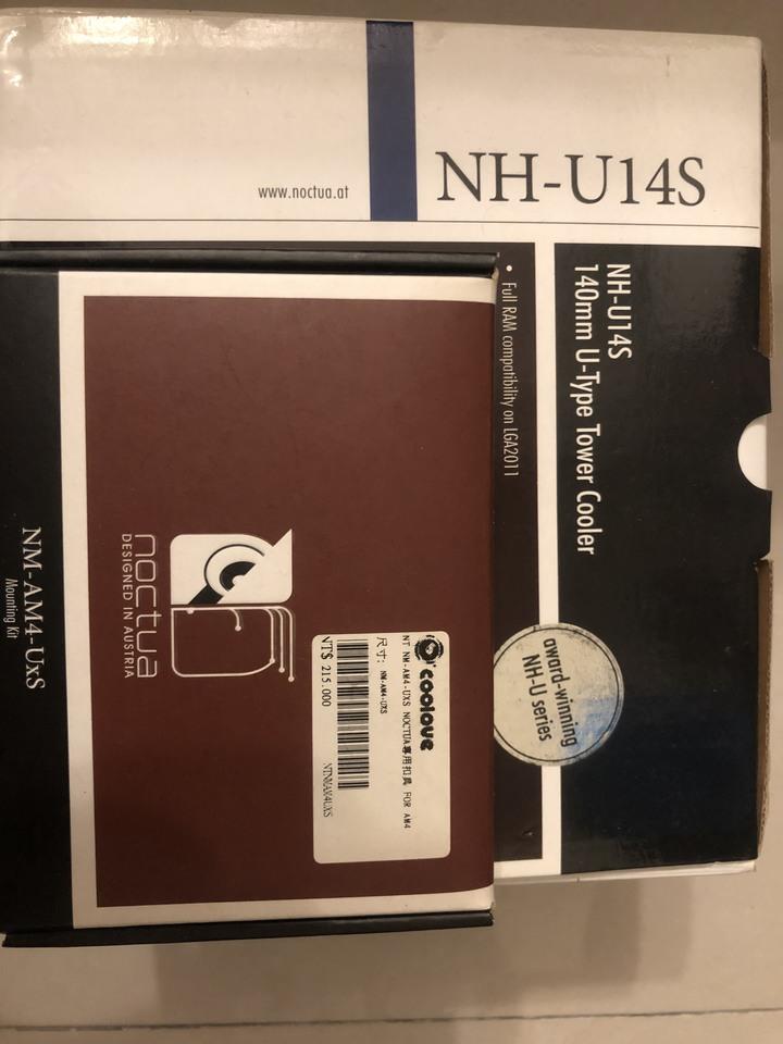 賣Noctua NH-U14S (有多購買AM4扣具)