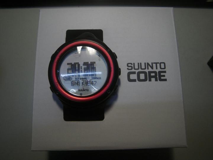 SUUNTO CORE LAVA RED  多功能戶外運動錶