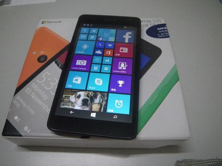 Microsoft Lumia 535 win10 雙卡手機