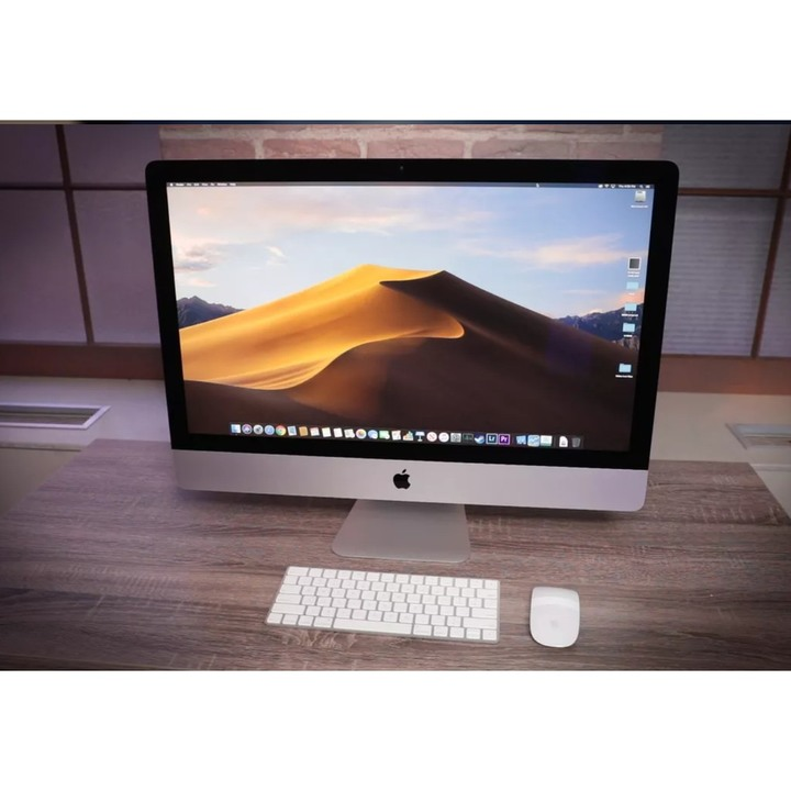 APPLE iMac 27 5K i5-3.8G PRO 580-8G 2T(128G SSD) 近全新 可交換