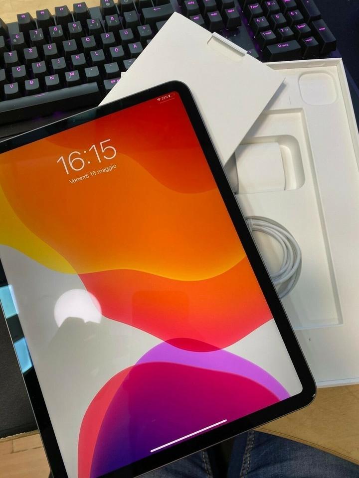 APPLE 銀 iPad Pro 11 2020 二代 128G 約近全新 刷卡分期零利 無卡分期