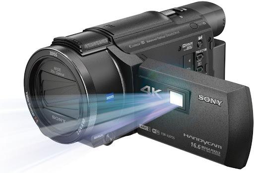 SONY 高階 4K 攝影 AXP55 約近全新 保固至2021七月 可投影 64G 公司貨 刷卡分期零利率