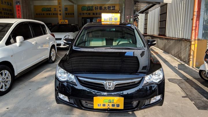 苗栗★HOT佳昱汽車★2006 HONDA CIVIC/K8  EX-S頂級1.8L (黑)★