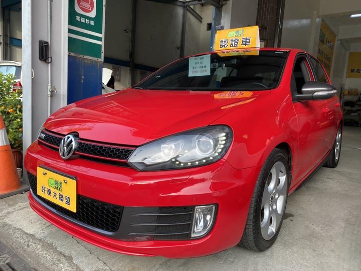 苗栗★HOT佳昱汽車 ★2011 Volkswagen GOLF GTI 2.0L (紅)★