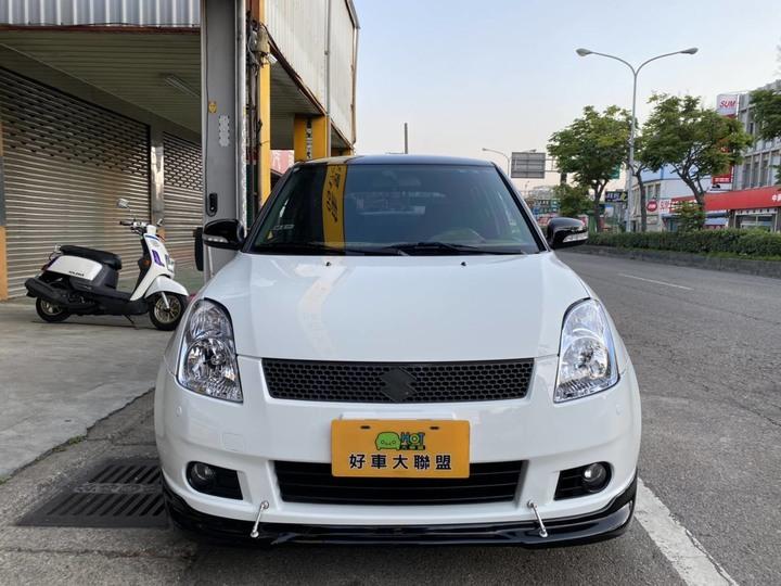 苗栗★HOT佳昱汽車 ★2007 SUZUKI SWIFT 頂級 1.5L (白/黑)★