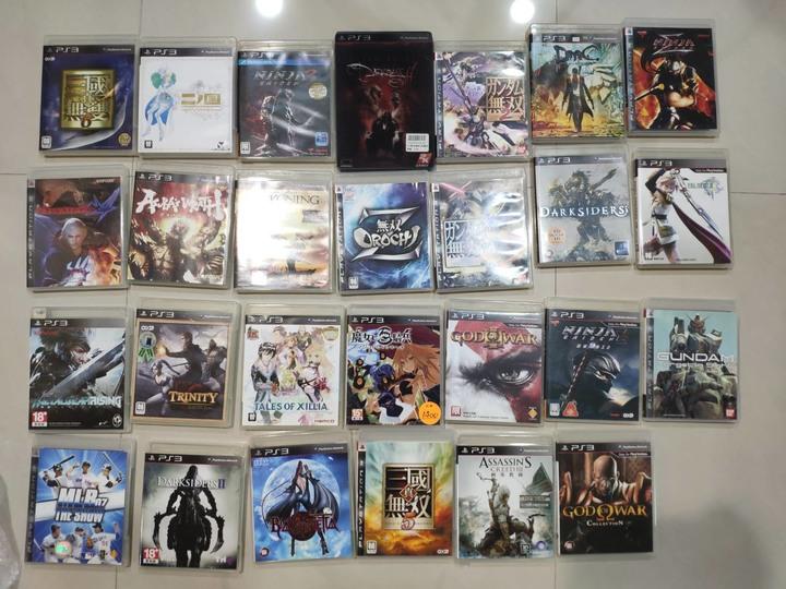 PS3 2手遊戲 27片一次出清
