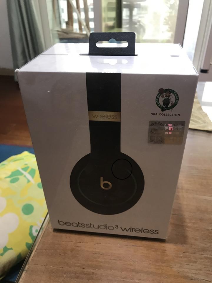 BEATS studio3 wireless NBA聯名藍芽耳機