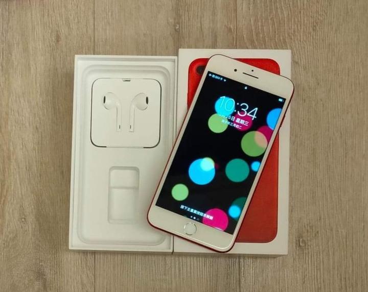 Iphone 7 plus 128G限量紅