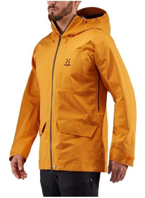 全新男生Haglöfs Grym Evo Jacket - M號 沙漠黃