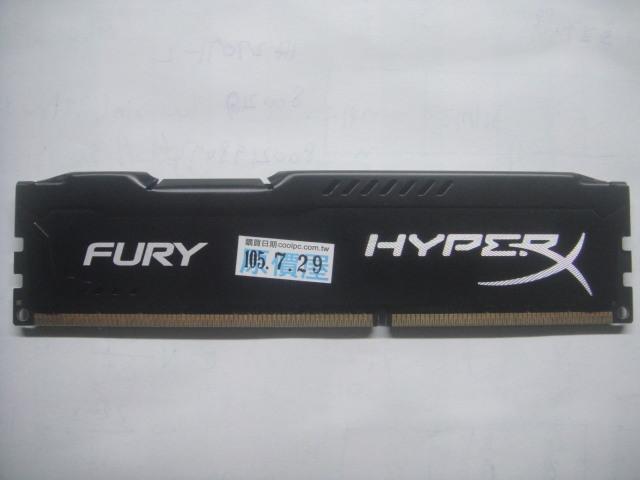 kingston金士頓 8G DDR3 1866 HypeHX318C10FB/8 桌上型記憶體電競超頻版