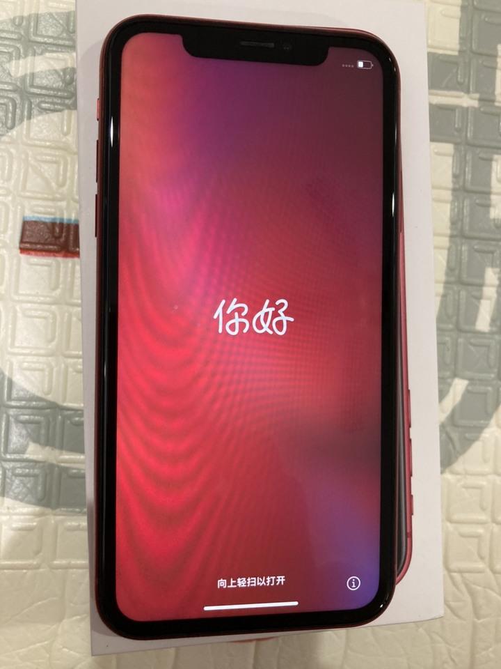iPhone XR 128G 紅 9成新 功能正常 二手 可刷卡 分期 苗栗可面交 有手機盒 已過保