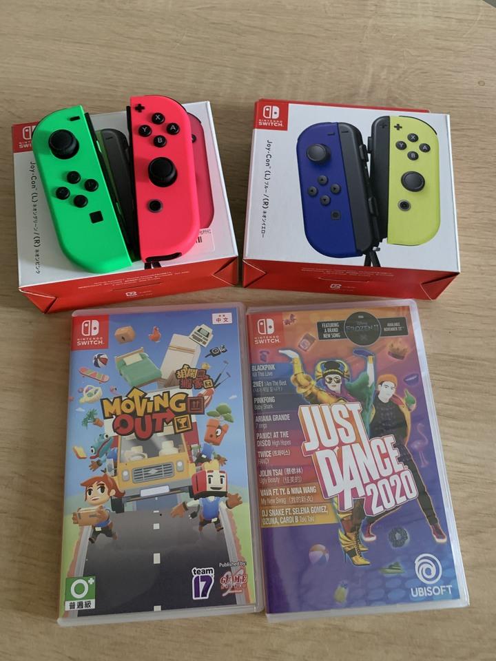 Switch 遊戲joy con