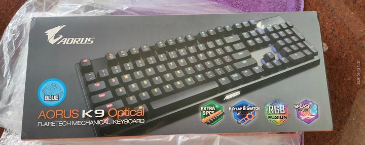 GIGABYTE技嘉 AORUS K9 Optical 電競鍵盤