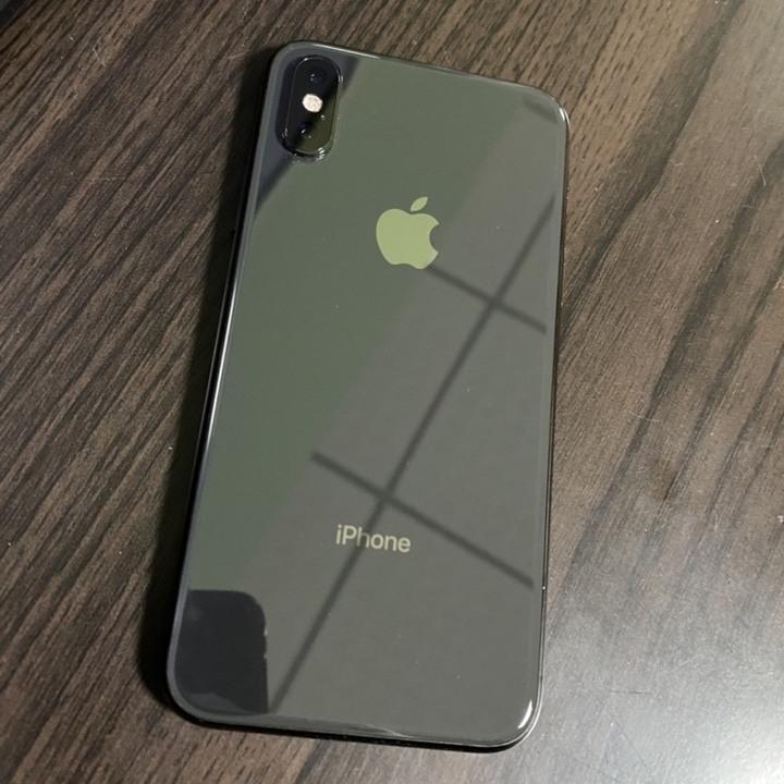 iPhone XS 64gb 黑灰色 過保 電池健康86%
