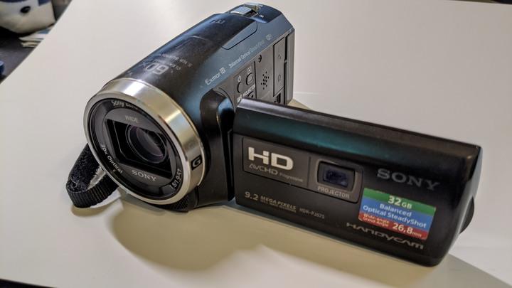 二手Sony HDR PJ-675攝影機