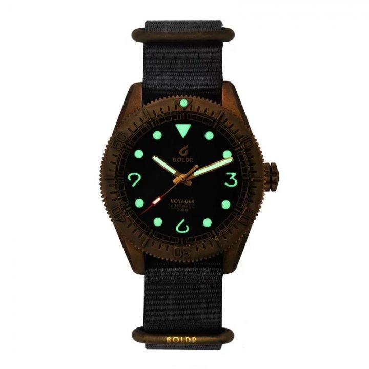 BOLDR Voyager黃銅潛水錶