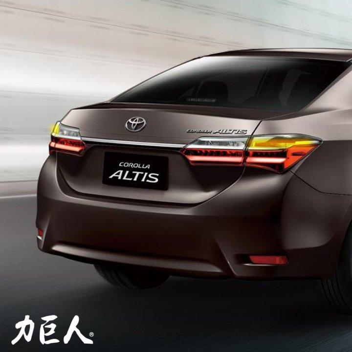 緊急煞車警示系統 Toyota Altis (2013~2019) 力巨人 到高雄總公司安裝/保固一年/臺灣製造