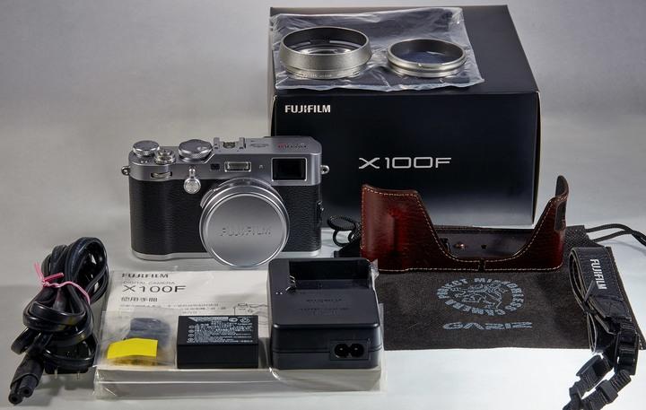 富士 Fujifilm X100F 快門數3200