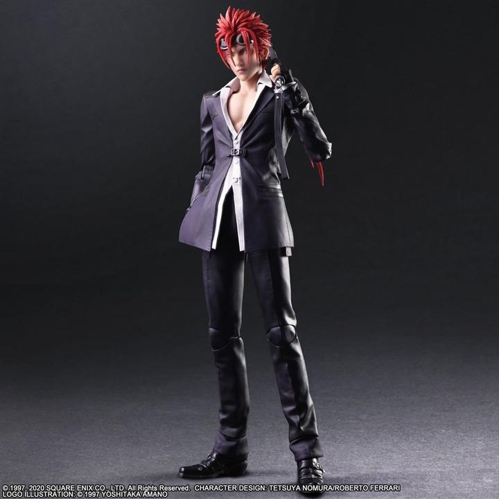 【Jの收藏】【全新】PLAY ARTS 改 Reno Final Fantasy 最終幻想 太空戰士 雷諾