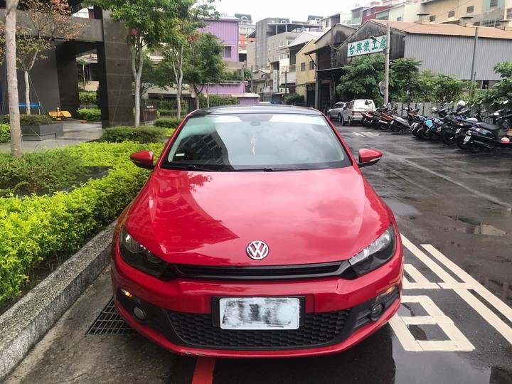 2011 VW scirocco 1.4