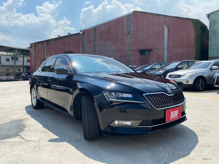 2017 Skoda Superb Sedan 菁英版 僅49.8萬
