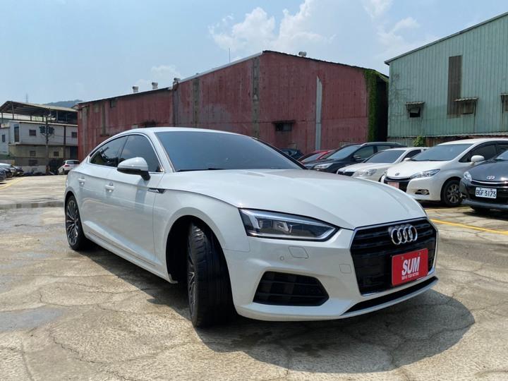 2018式 Audi A5 Sportback 40TFSI 新車保固中