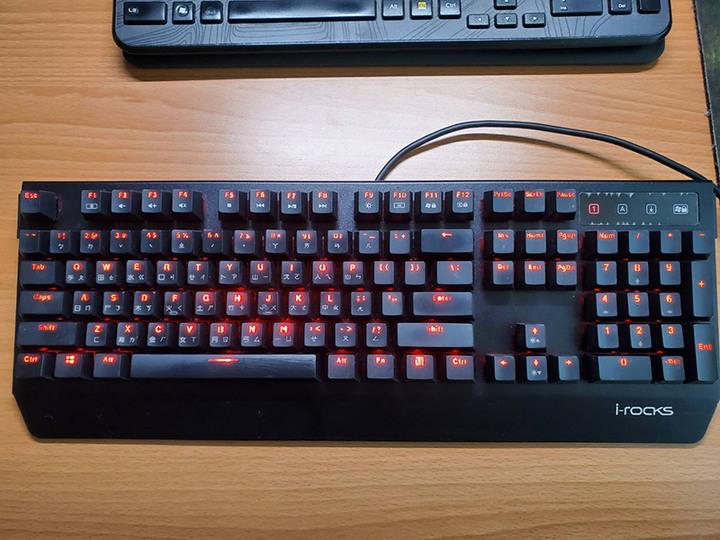 i-Rocks K60M 紅軸 機械鍵盤