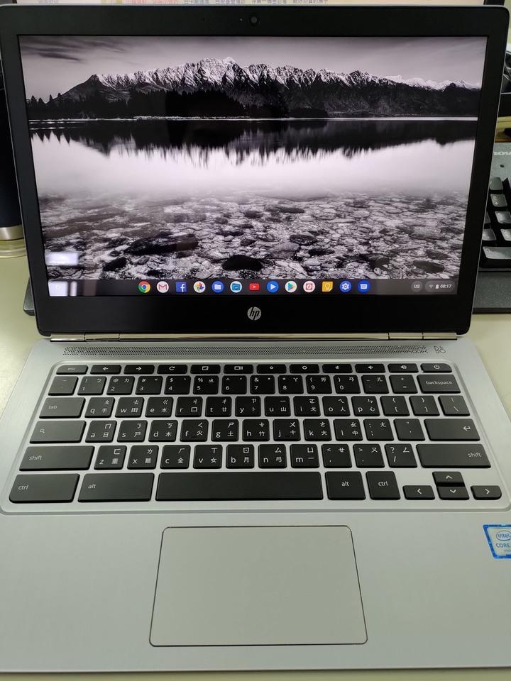 9成新 HP Chromebook 13 G1/M7-6Y75/16G/高解析螢幕