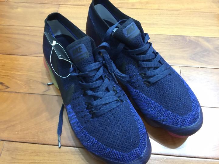 一元起標 全新Nike Air Vapormax 大彩虹氣墊鞋底 尺寸24CM
