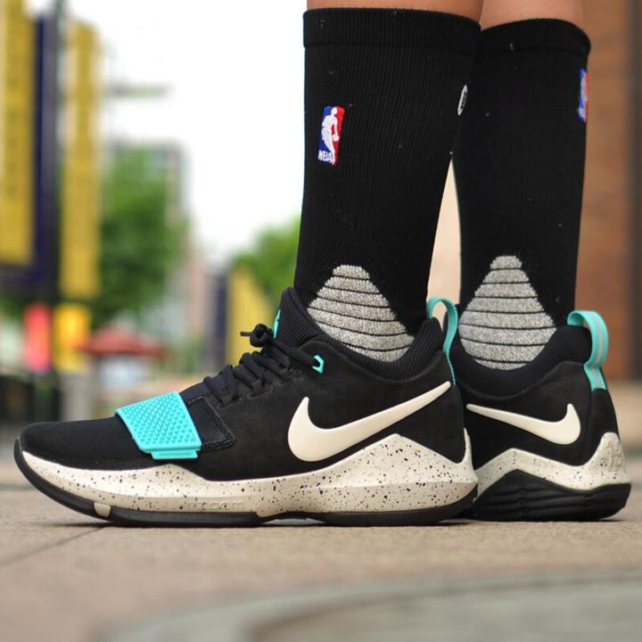 一元起標 全新NIKE PG 1 EP PG1 籃球鞋 Light Aqua配色 尺寸US10.5/28.5CM